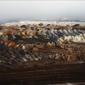 New Land by Goran Popović - Landscapes Deserts ( lignite, mine, landscapes )