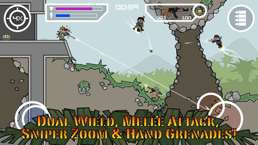 Doodle Army 2 : Mini Militia  gameplay | by HackJr.Pw 7