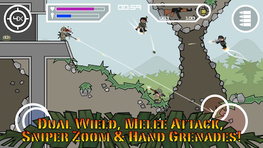 Doodle Army 2 Mini Militia MOD APK Pro Pack Purchased 4.2.5 7