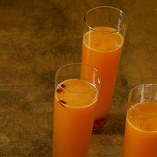 Tangerine-Pomegranate Sparklers.