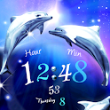 Dolphin Blue Live Wallpaper