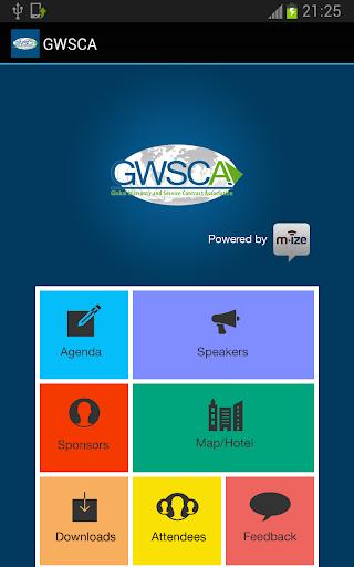 GWSCA Conference