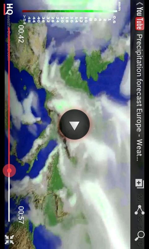 Weather2Umbrella Free Weather - screenshot