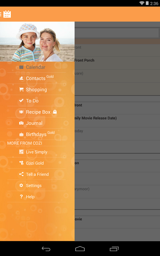 Cozi Family Organizer- screenshot