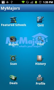 MyMajors - screenshot thumbnail