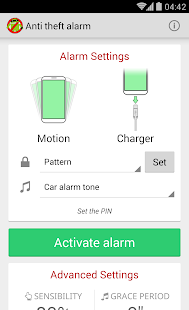Anti Theft Alarm- screenshot thumbnail