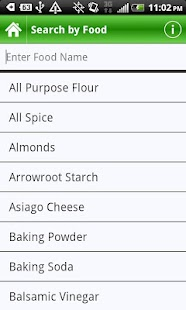 Food Substitutes - screenshot thumbnail