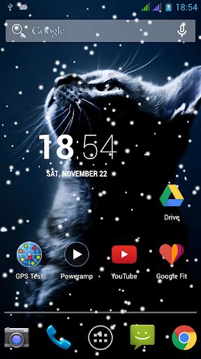 Lovely Snowfall Live Wallpaper