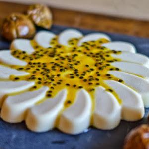 Vanilla and Passion Fruit Panna Cotta