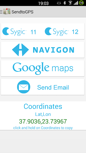 Send To GPS 2.5 screenshots 1