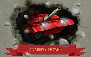 Screenshot of War of Tanks 1990