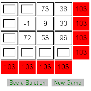 Math Wiz Square