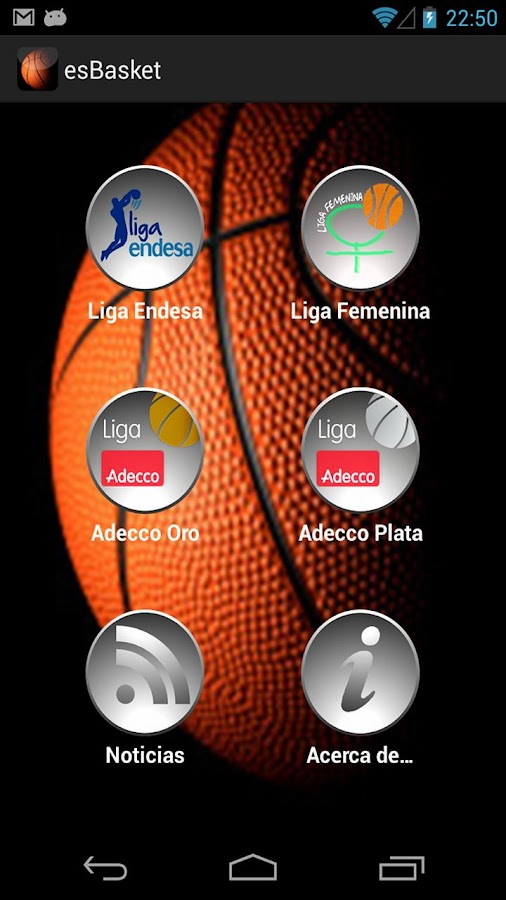 es Basket - screenshot
