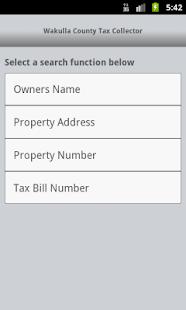 Wakulla Tax Collector - screenshot thumbnail