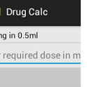 Simple Drug Dosage Calculator icon