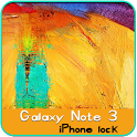 Galaxy note 3 iPhone Lock icon
