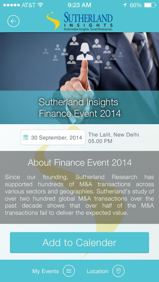 Sutherland Insights- screenshot