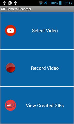 GIF Camera Recorder