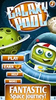 Screenshot of Galaxy Pool (physics game)