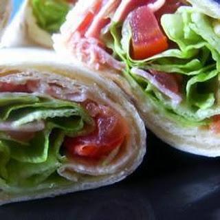 BLT Tortilla Wraps Recipe