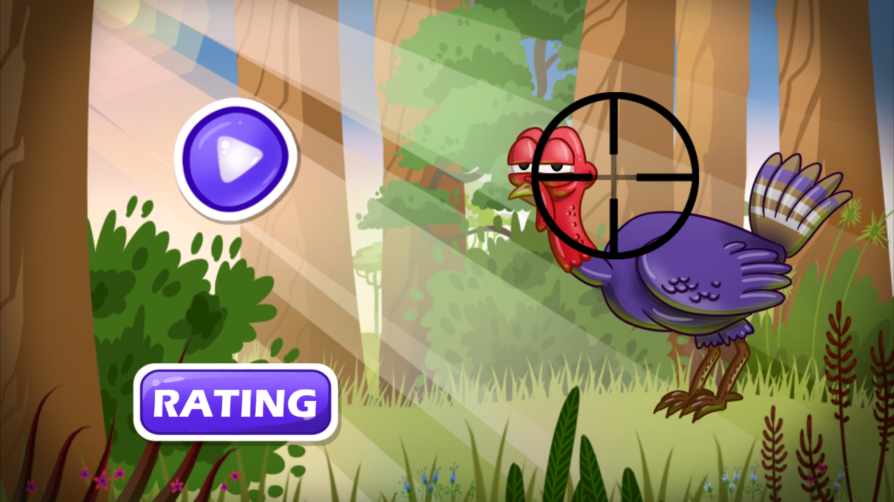 Turkey Shoot: Swamp Gobble- screenshot