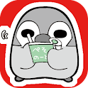 Pesoguin Memo Pad Full Penguin logo