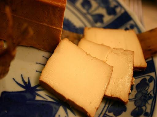 母袋燻り豆腐