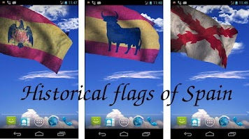 Screenshot of 3D Spain Flag Live Wallpaper
