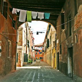 venezia by Artemis Tsakiri - City,  Street & Park  Neighborhoods