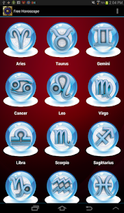 Free Horoscope 2014 - screenshot thumbnail