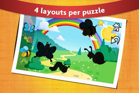 Peg Puzzle 2 Free Kids & Toddlers Shape Puzle Game- screenshot thumbnail