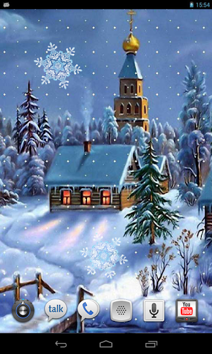Snowfall Magic live wallpaper