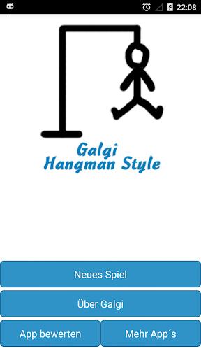 Galgi Wortspiel Deutsch