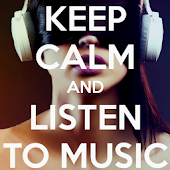 Keep Calm And LOVE MUSIC dHD