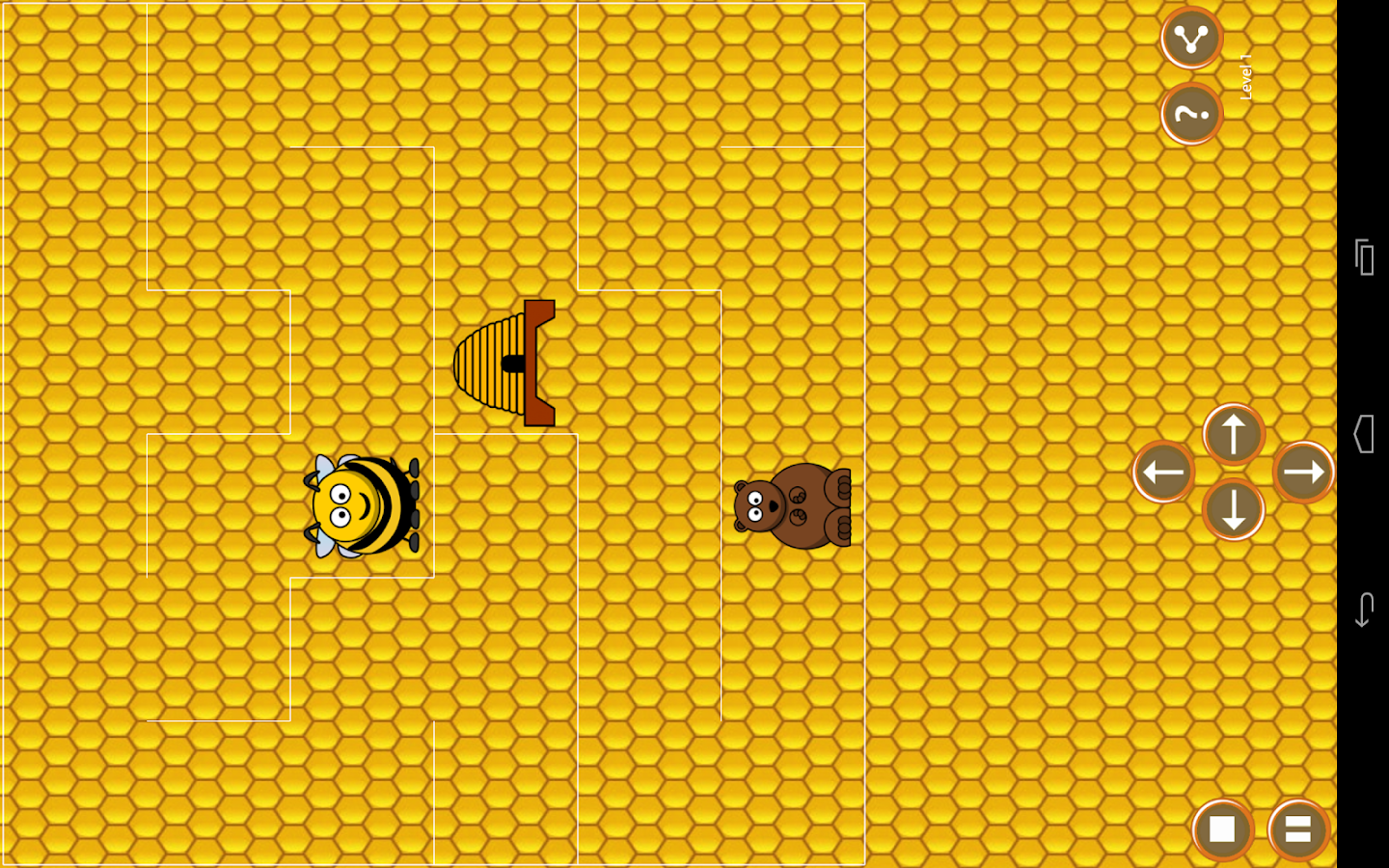 Beehive Maze Race - screenshot