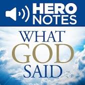 What God Said Audiobook, NDW