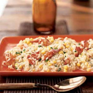 Lobster and Corn Risotto.