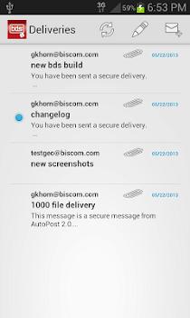Biscom SFT Mobile