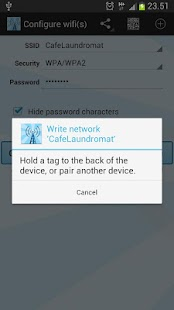 Instant NFC WiFi + Notify - screenshot thumbnail