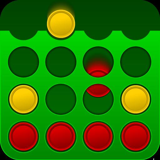 4目並べオンライン4目並べマルチプレーヤー 棋類遊戲 LOGO-玩APPs