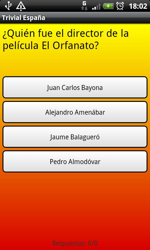 Trivial España- screenshot