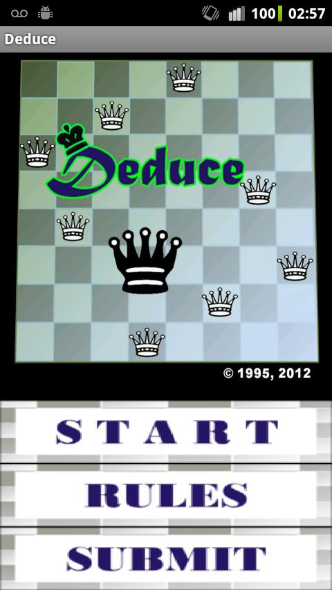 Deduce - screenshot