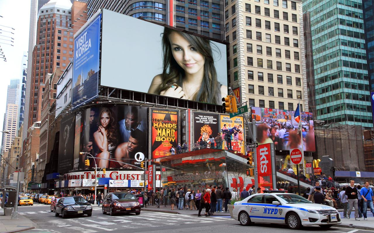 billboard photo frames screenshot