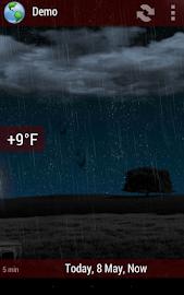 Animated Weather Widget&Clock Screenshot 7