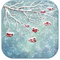 Winter nature icon