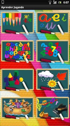 Aprender Jugando - Preescolar