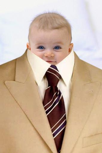Baby Suit Photo