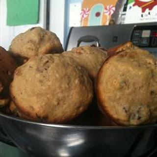 Cranberry Applesauce Muffins.