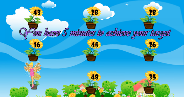 Fairy elementary math game - screenshot thumbnail