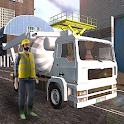 Mixer Truck Asphalt icon